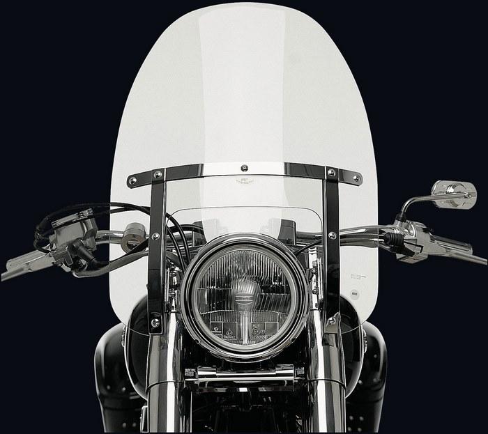 NATIONAL CYCLE (ナショナルサイクル) ウィンドシールドカスタム Heavy Duty クリア 745ccm - VT750 Shadow Black Spirit | 112233