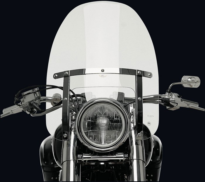 NATIONAL CYCLE (ナショナルサイクル) ウィンドシールドカスタム Heavy Duty クリア 903ccm - VN 900 Classic | 112246