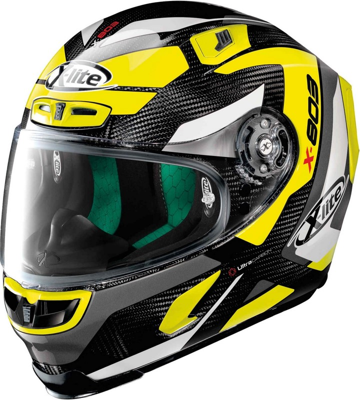 X-Lite / エックスライト X-803 Mastery Ultra Carbon ヘルメット フルフェイス イエロー/ブラック
