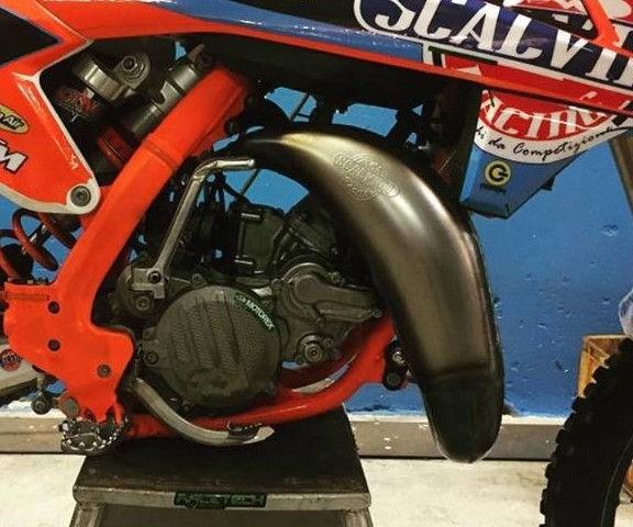 Scalvini / スカルビーニ Mould エキゾーストパイプ KTM SX 85 (18/19) - HQ TC 85 (18/19) | 001.013518