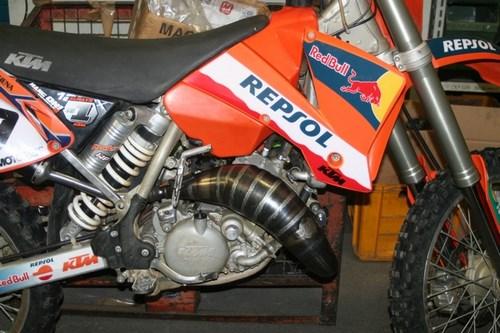 Scalvini / スカルビーニ コンプリートエキゾースト KTM 125 - 2004   001.014000