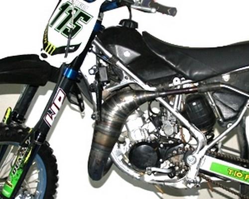 Scalvini / スカルビーニ エキゾーストシステム Kawasaki KX 85 (02/13) | 001.043010