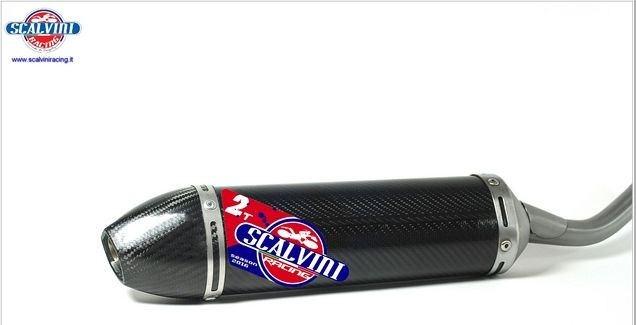 Scalvini / スカルビーニ サイレンサー フルカーボン ツーストロークエンジン | 002.074214