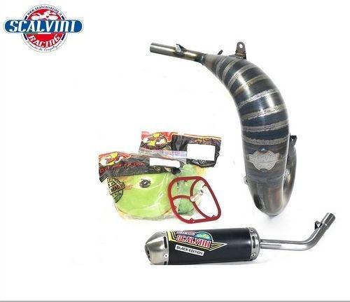 Scalvini / スカルビーニ エキゾースト + DT1 フィルターキット KTM SX 65 (16/18) - HQ TC 65 (17/18)   010.012121