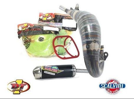 Scalvini / スカルビーニ エキゾースト + DT1 フィルターキット KTM 125 (05/15)   010.014111