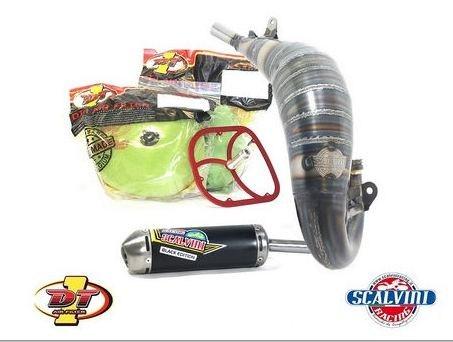 Scalvini / スカルビーニ エキゾースト + DT1 フィルターキット KTM/HQ 125 (16/18)   010.014121