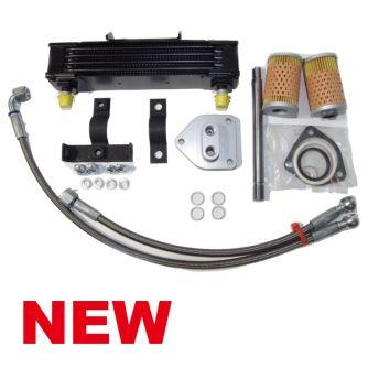 Siebenrock Oil Cooler Kit Centered For BMW R 2V Boxer Models Road   1142400R