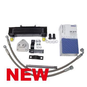 Siebenrock Oil Cooler Kit Centered For BMW R 2V Boxer Models Street   1142400S