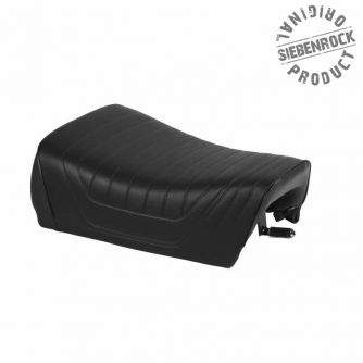 Siebenrock Single Seat Black G/S Pd And Basic For BMW R 65G/S And R 80G/S   5255180