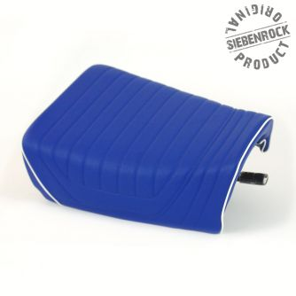 Siebenrock Single Seat Blue With White Seam G/S Pd And Basic For BMW R 65G/S And R 80G/S   5255191