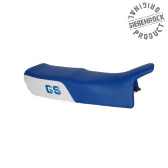 Siebenrock Double Seat Gs Paralever,White-Blue, Low With Logo   5255230X