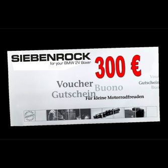 Siebenrock Voucher Worth 300,00 Eur, Redeemable Once   7198300