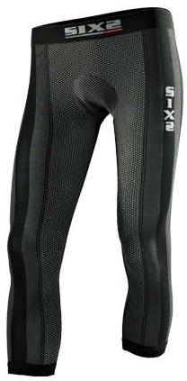 SIXS - シックス Padded leggings - カーボンブラック
