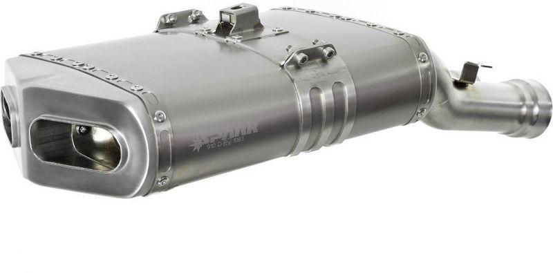 SPARK (スパーク) EVO II マフラー チタン + ライセンスプレートフォルダー DUCATI 749/999   GDU1501TOM