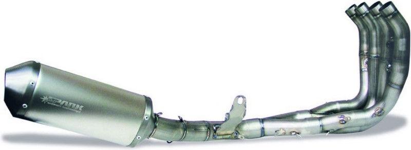 Spark SPARK EVO III FULL SYSTEM 102 DB TITANIUM WITH S/S HEADER YAMAHA R6   GYA8805T
