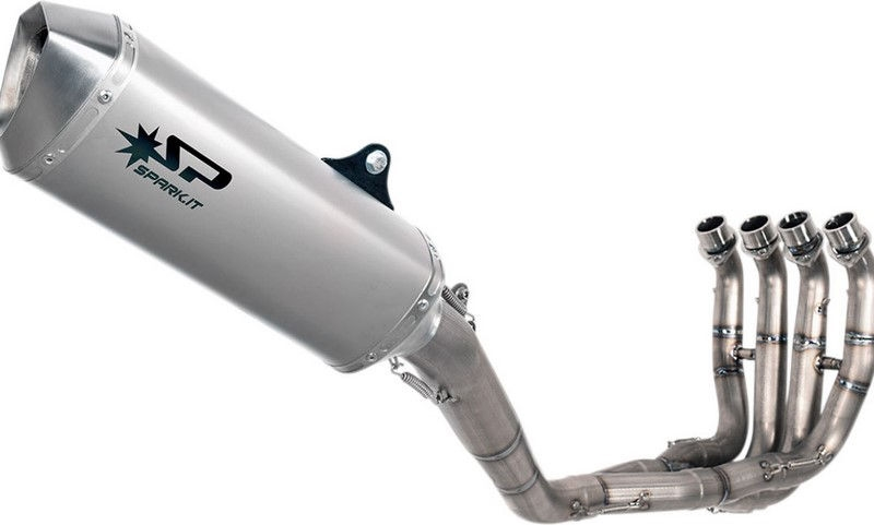Spark SPARK EXHAUST FULL SYSTEM STAINLESS STEEL FORCE SILENCER   GYA8853T