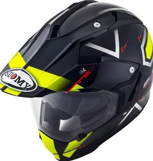 SUOMY Enduro full face helmet MX TOURER visor included, Color: ROAD YELLOW | MX TOURER