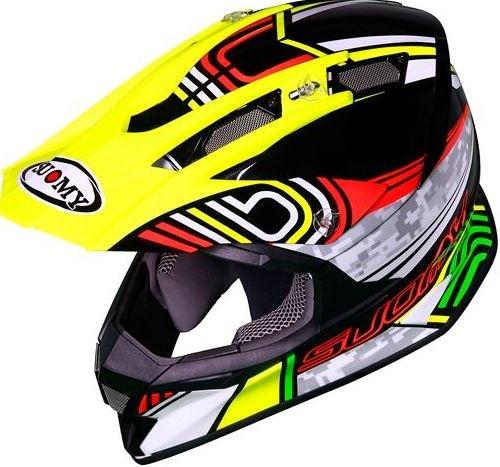SUOMY Offroad Helmet ALPHA, Color: PIXEL | ALPHA