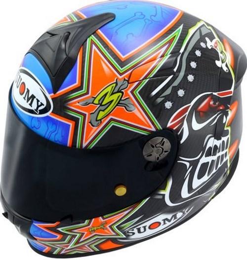 SUOMY Full Face Helmet SR-SPORT-CARBON, Color: BIAGGI BLUE | SR-SPORT-CARBON
