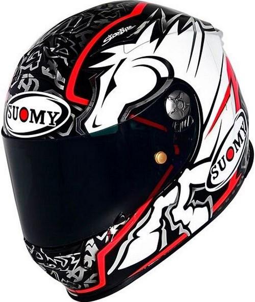 SUOMY Full Face Helmet SR-SPORT, Color: DOVI BLACK | SR-SPORT