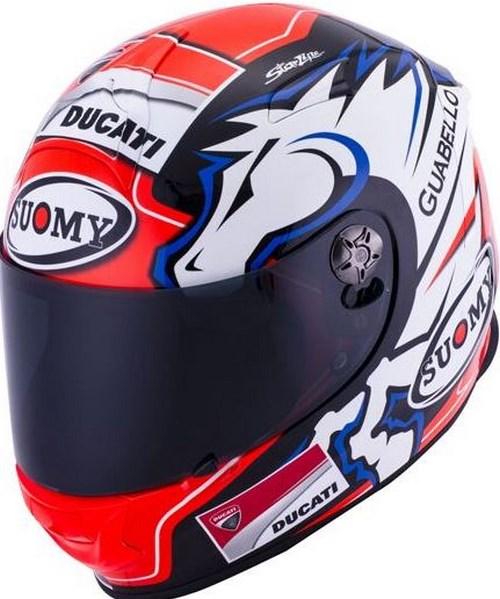 SUOMY Full Face Helmet SR-SPORT, Color: DOVI BLUE | SR-SPORT
