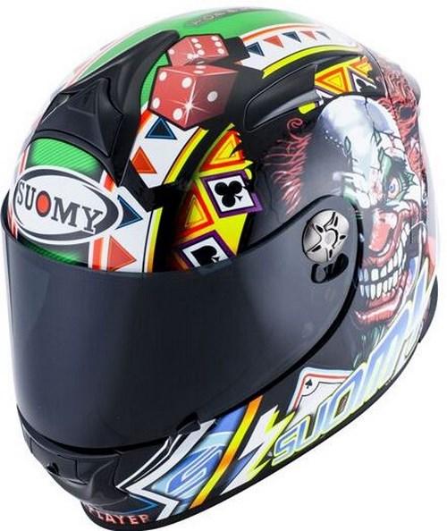 SUOMY Full Face Helmet SR-SPORT, Color: TOP PLAYER | SR-SPORT