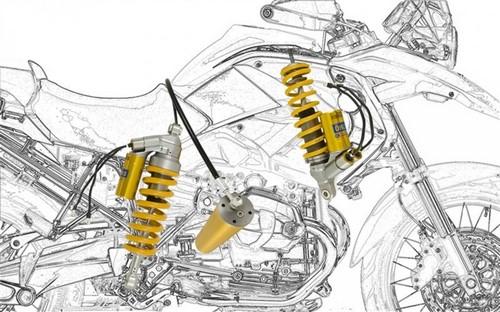 Unit Garage / ユニットガレージ BMW R 1200 GS スティーリングショックキット MECHATRONIC SYSTEM Ohlins (オーリンズ) | COD. BM670