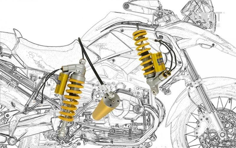 Unit Garage / ユニットガレージ キット ショック BMW R 1200 GS ADV Mechatronic システム Ohlins (オーリンズ) | COD. BM671