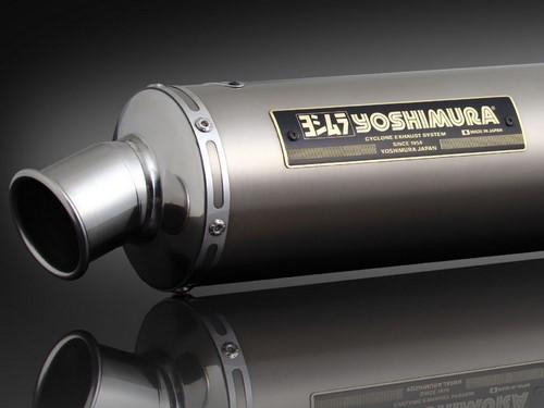 YOSHIMURA / ヨシムラ JMCA approved フルエキゾーストシステム Hand Bent GSX1400 -05 (TT) - チタン カバー | 110-114-8881