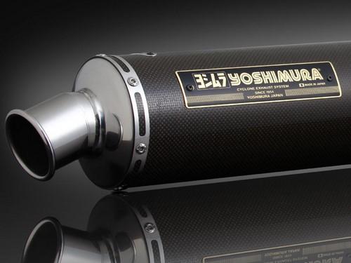 YOSHIMURA / ヨシムラ JMCA approved フルエキゾーストシステム Hand Bent GSX1400 -05 (TC) - カーボン カバー | 110-114-8891