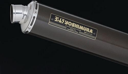 YOSHIMURA / ヨシムラ JMCA approved フルエキゾーストシステム Hand Bent LEPTOS ZRX1200S/R/DAEG (TC) - カーボン カバー | 110-284-8891