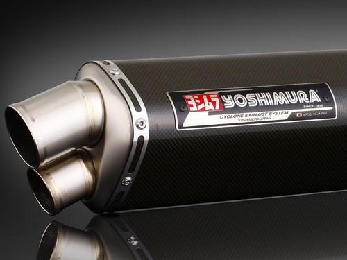 YOSHIMURA / ヨシムラ JMCA approved フルエキゾーストシステム Tri-Oval Dual Exit GSX1300R 08- (TC) - カーボン カバー | 110-509-8990
